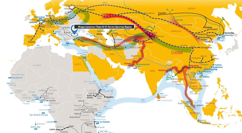 Нов «Български Логистичен Коридор (Азия-Порт Варна-Централна Европа) – EU Gateway»