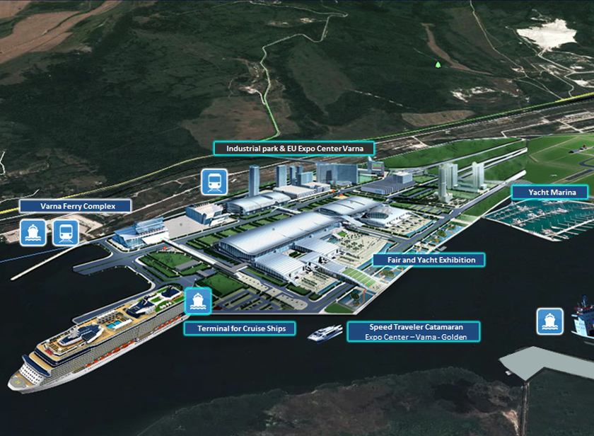 PROJECT «EUROPEAN EXPO CENTER VARNA – FERRYBOAT COMPLEX & LOGISTIC HUB» FOR IMPORT AND EXPORT