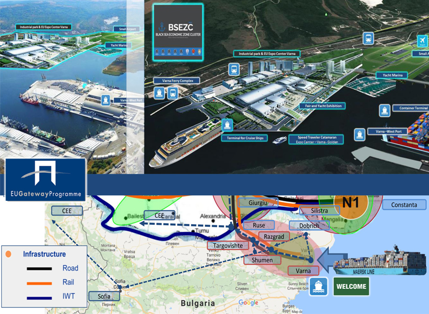 New «Bulgarian Logistics Corridor (Asia-Port Varna-Central Europe) – EU Gateway»